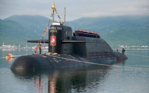 Submarine travel Delta IV SSBN