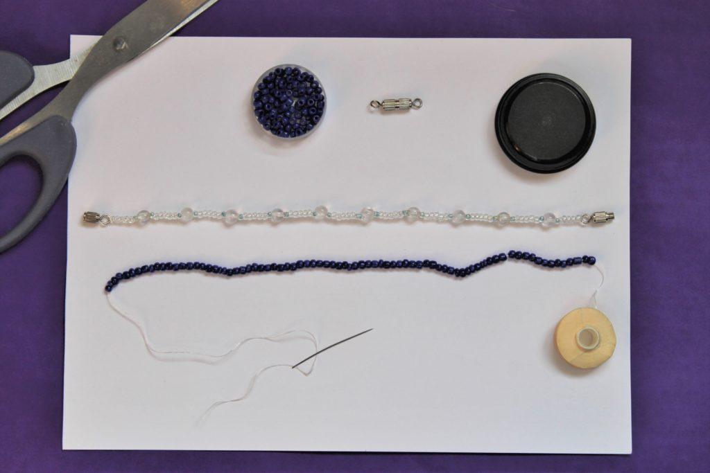 Measuring Bead Bracelet how to make a bracelet by Izzy's Corner at Immortal Wordsmith