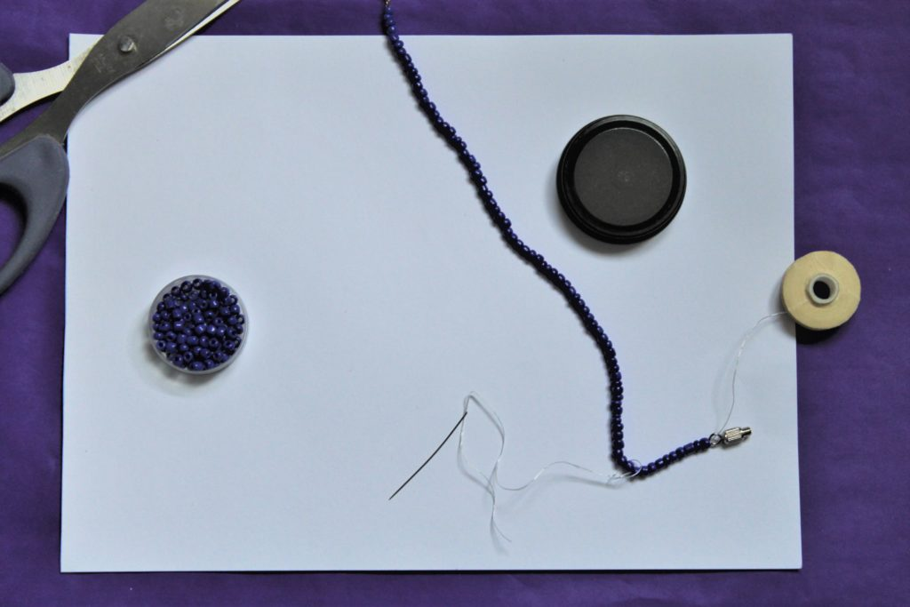Securing The Bracelet how to make a bracelet by Izzy's Corner at Immortal Wordsmith