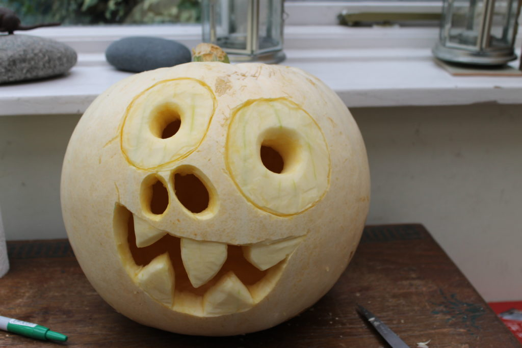 Finished Pumpkin Carving Halloween Pumpkin Guide by Immortal Wordsmith