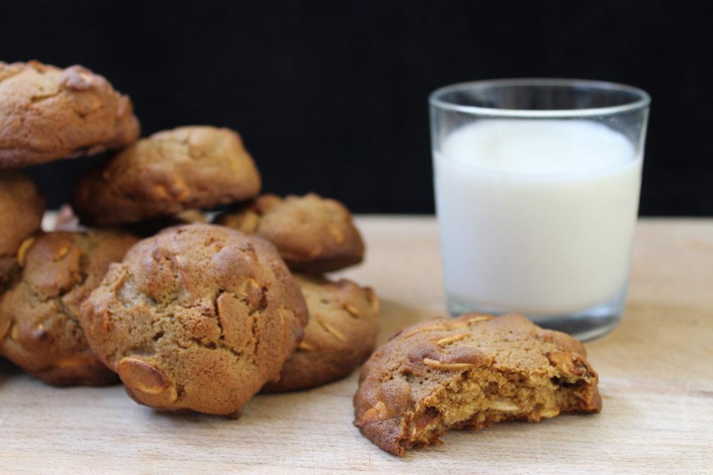 Pumpkin Seed Cookies with Glass of Milk - Halloween Pumpkin Guide by Immortal Wordsmith