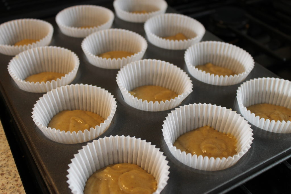 Pumpkin Cupcake Batter in Paper Cases - Halloween Pumpkin Guide by Immortal Wordsmith
