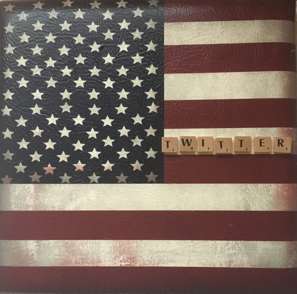 Twitter Scrabble American Flag Social Media Business Marketing Blog Post at Immortal Wordsmith