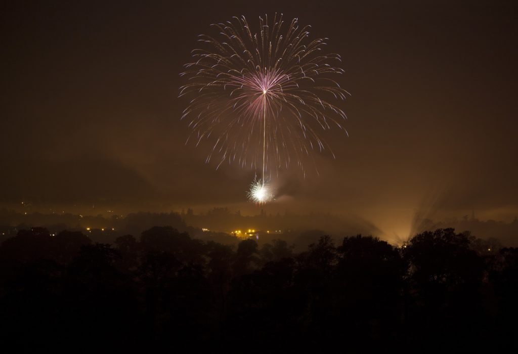 Fireworks in Nights Sky - The History of Guy Fawkes by Immortal Wordsmith