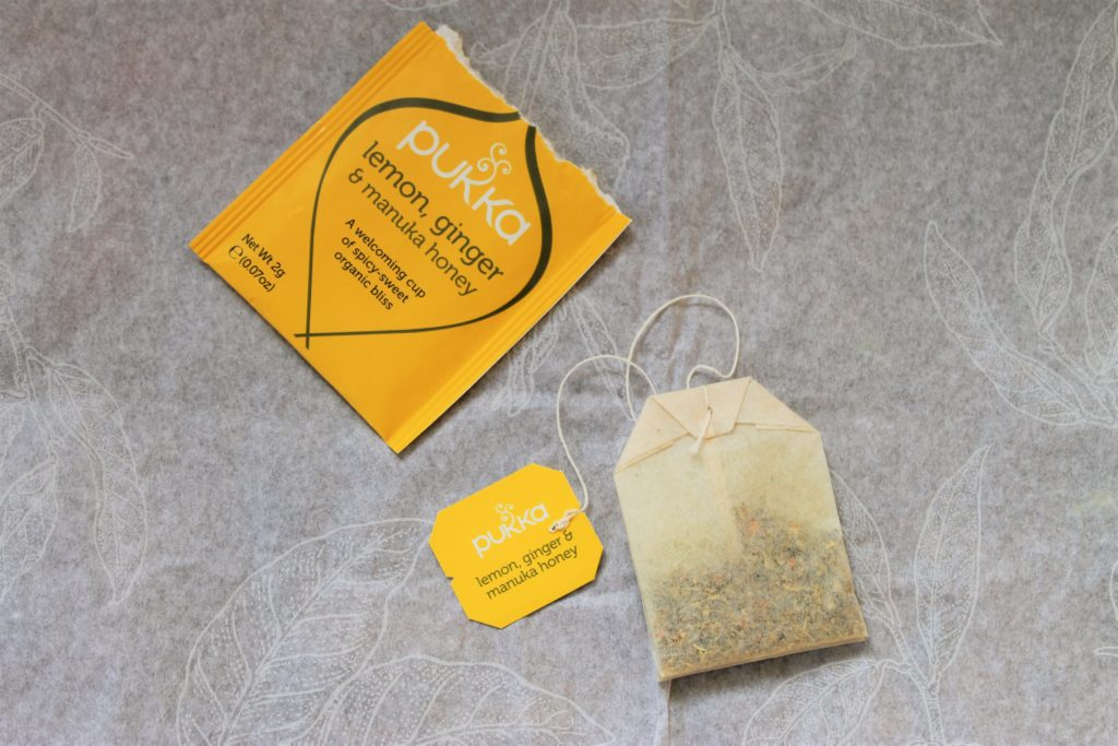 Pukka herbal tea bags