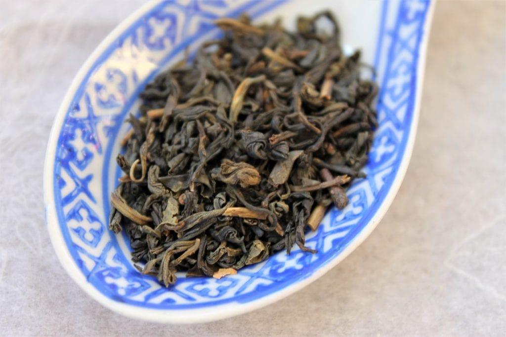 Sunflower jasmine tea leaves dry