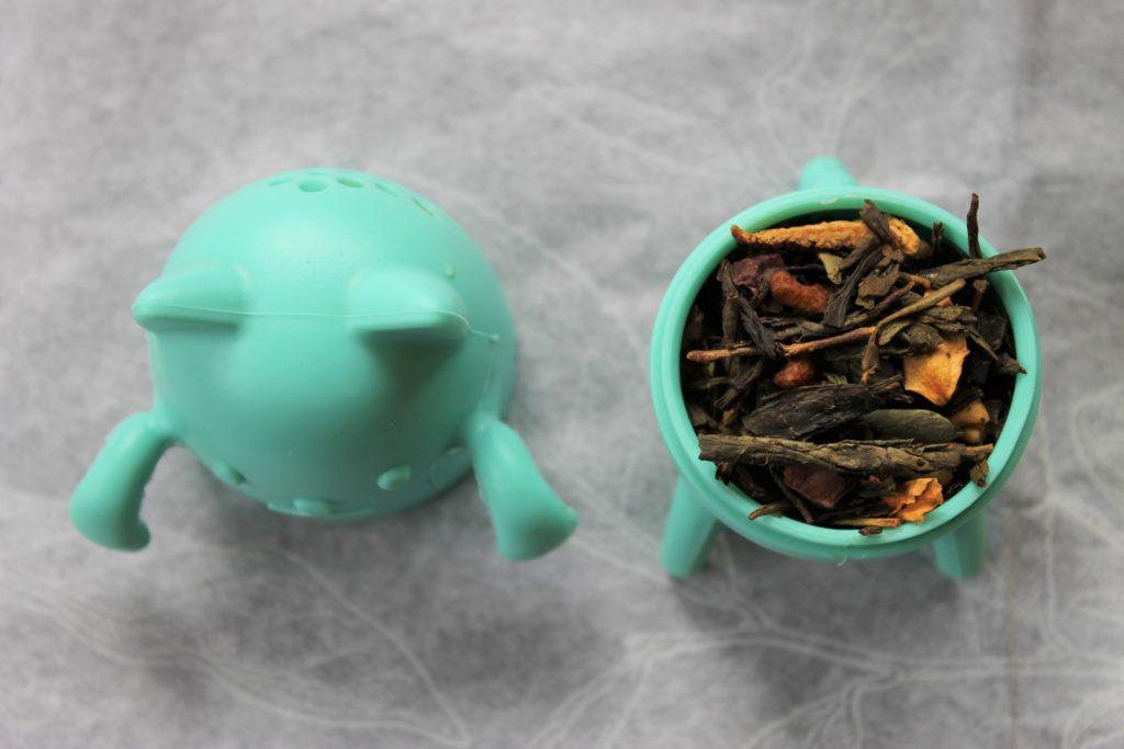 cat silicone tea infuser