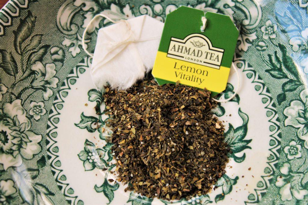 ahmad tea london lemon vitality tea bag