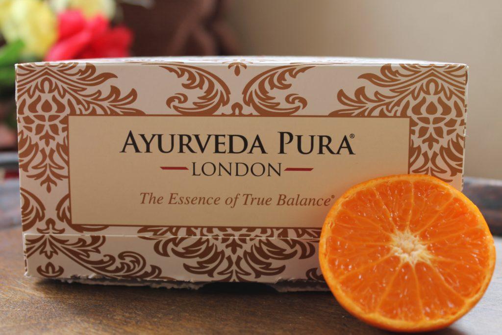 Ayurveda Pura tea box