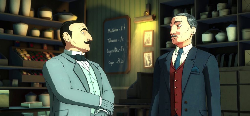 Hercule Poirot and Hastings
