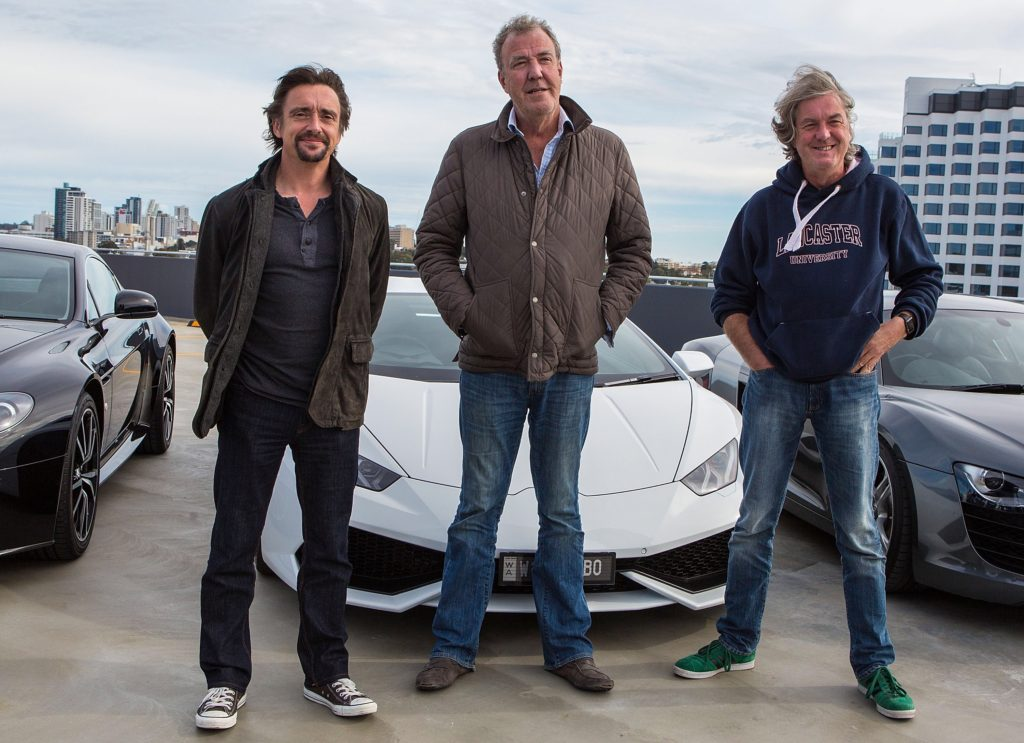Hammond Clarkson and May Top Gear
