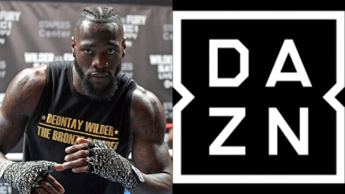 Deontay Wilder has been offered a huge deal with Dazn
