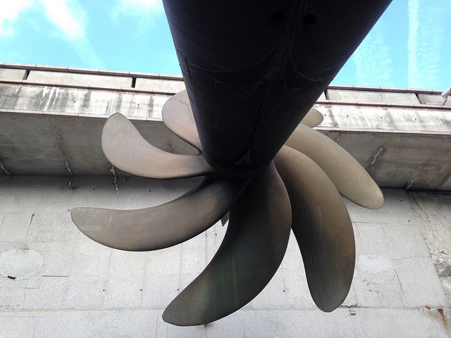 Le Redoutable propeller