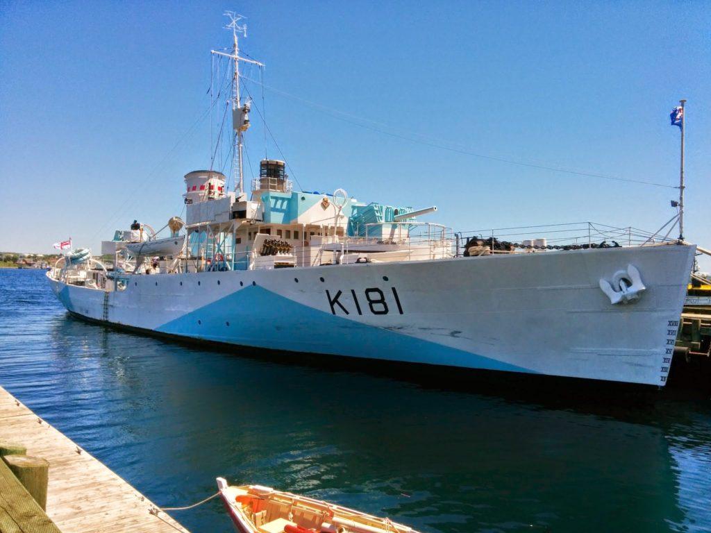 flower class corvette warship ki8i