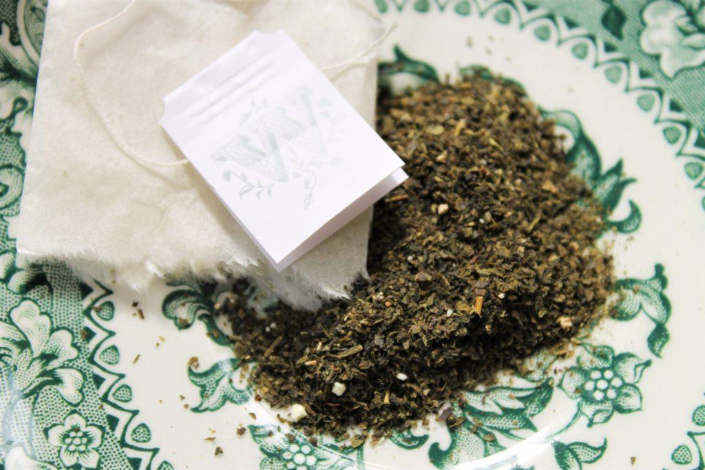 mango bergamot green tea