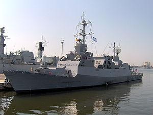 israel saar class corvette