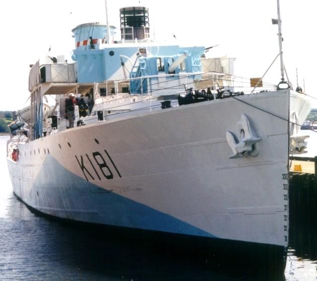 HMCS Sackville in Canada