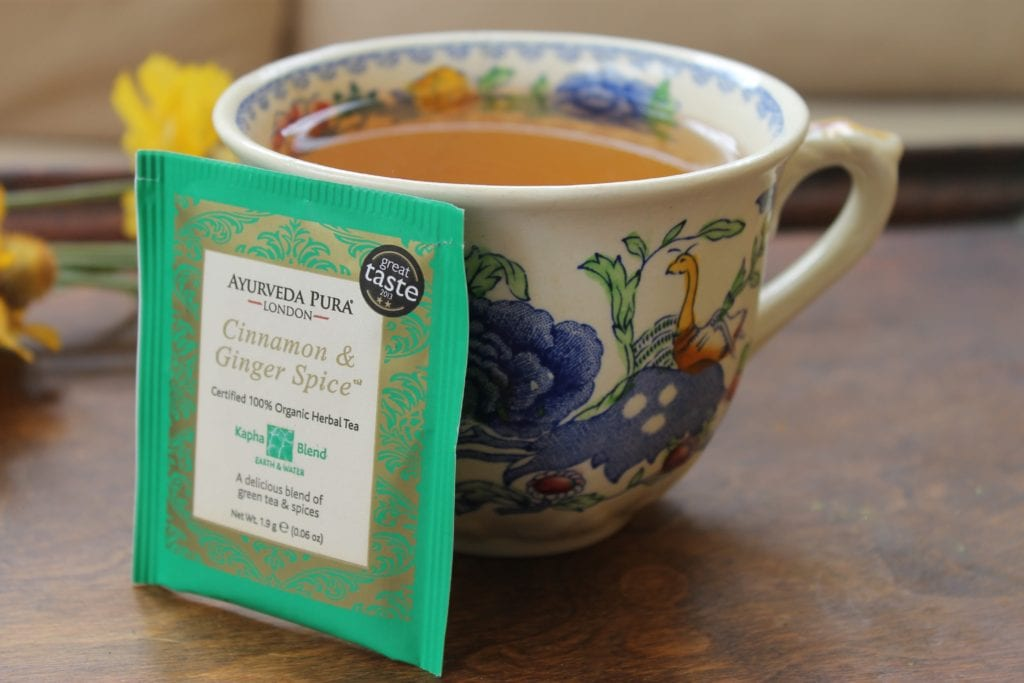cinnamon and ginger spice tea ayurveda pura