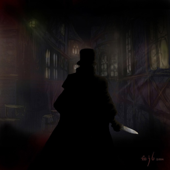 jack the ripper drawing