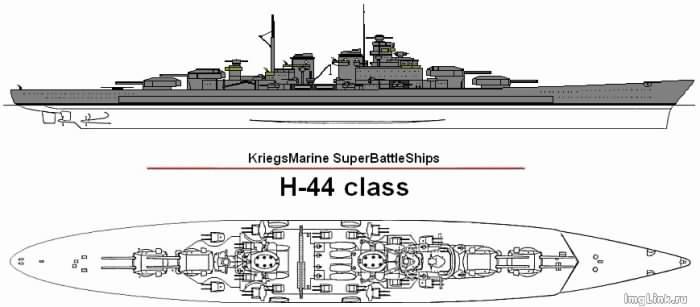 h44 battleship