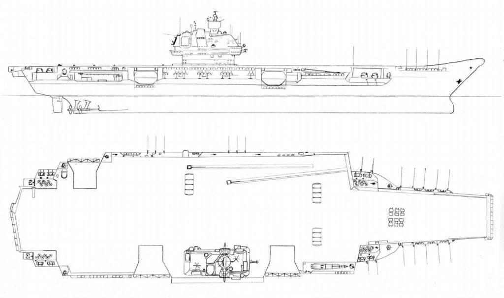 ulyanovsk aircraft carrier