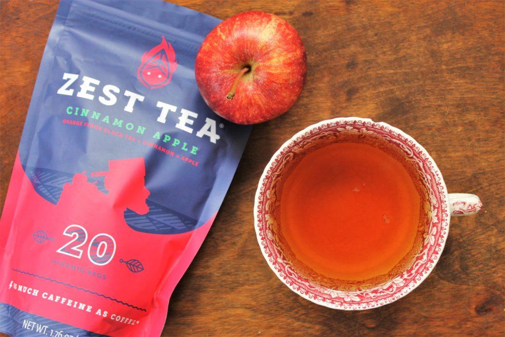 zest tea cinnamon apple tea review