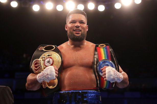 joe joyce heavyweight belts