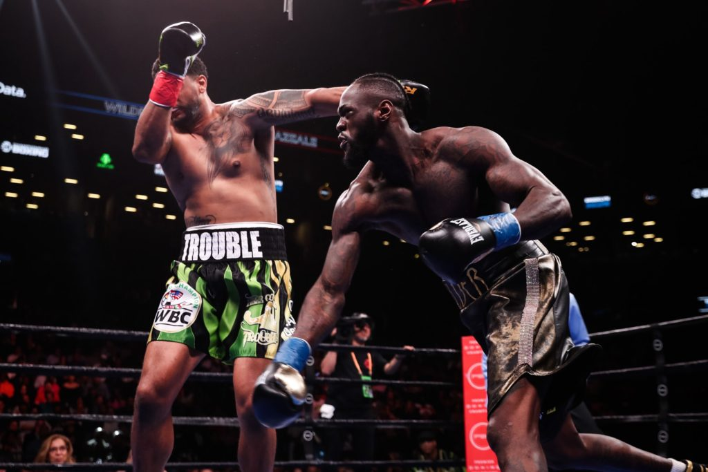 deontay wilder heavyweight boxer