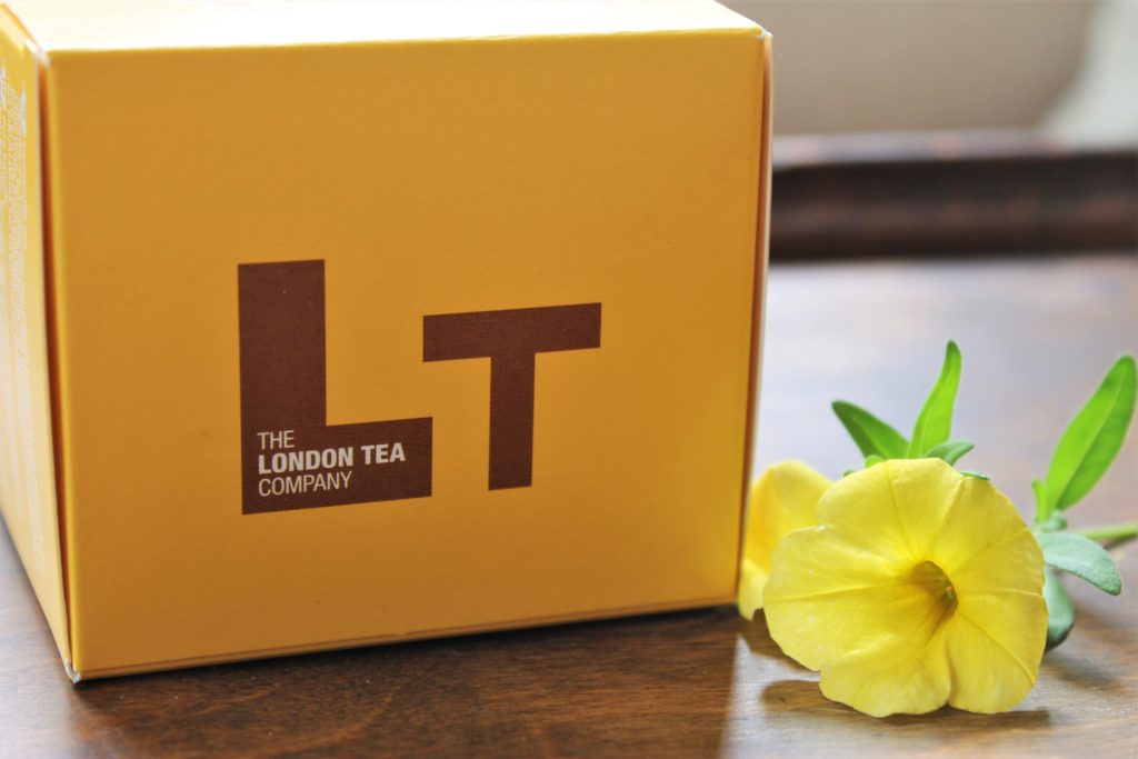 the london tea company yellow box