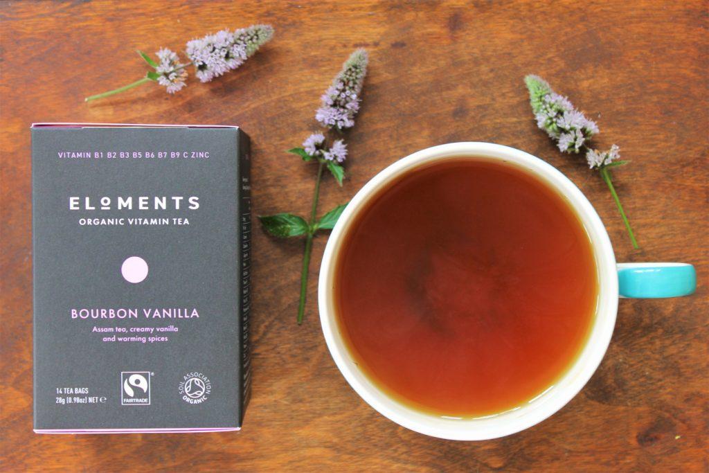 eloments bourbon vanilla vitamin tea review