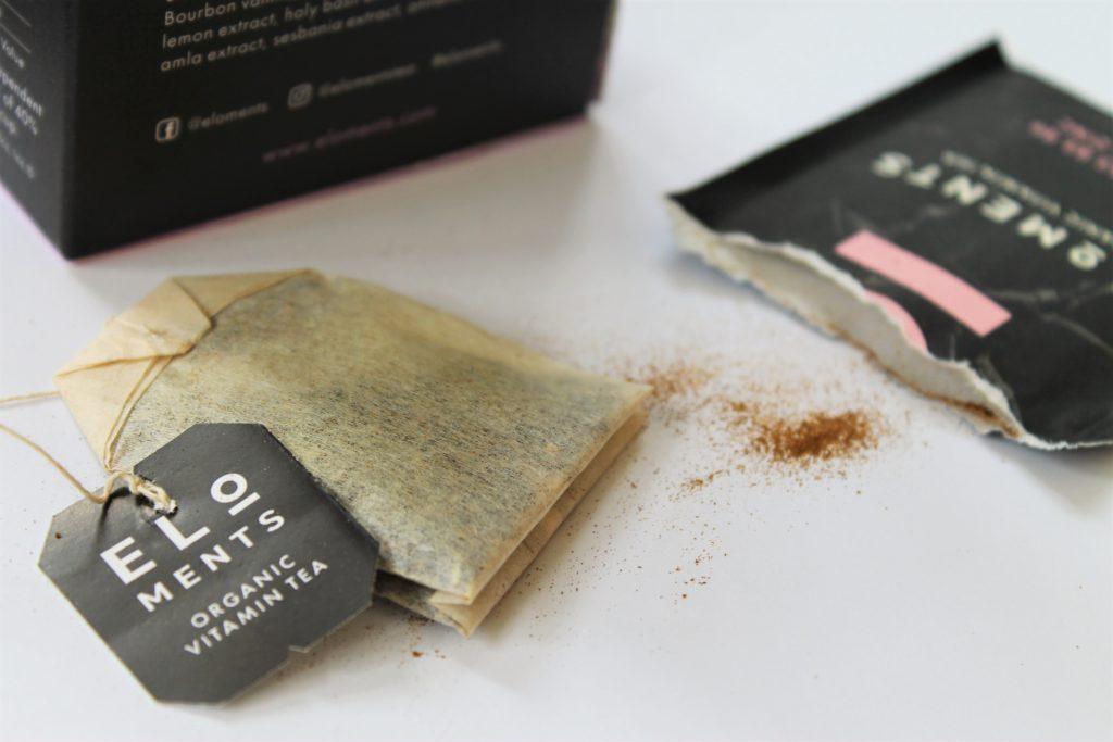 eloments vitamin tea bag