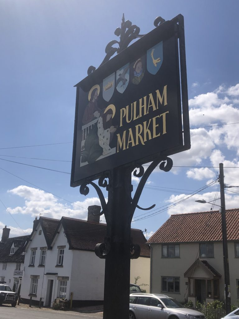 pulham market sign