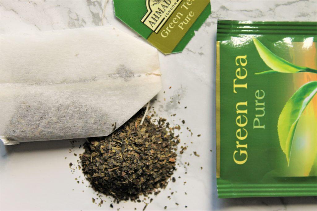 ahmad green tea pure teabag