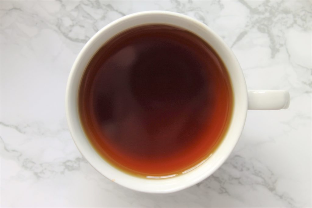 black tea with bergamot