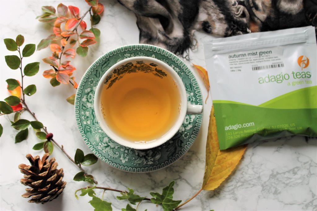adagio autumn mist green tea review