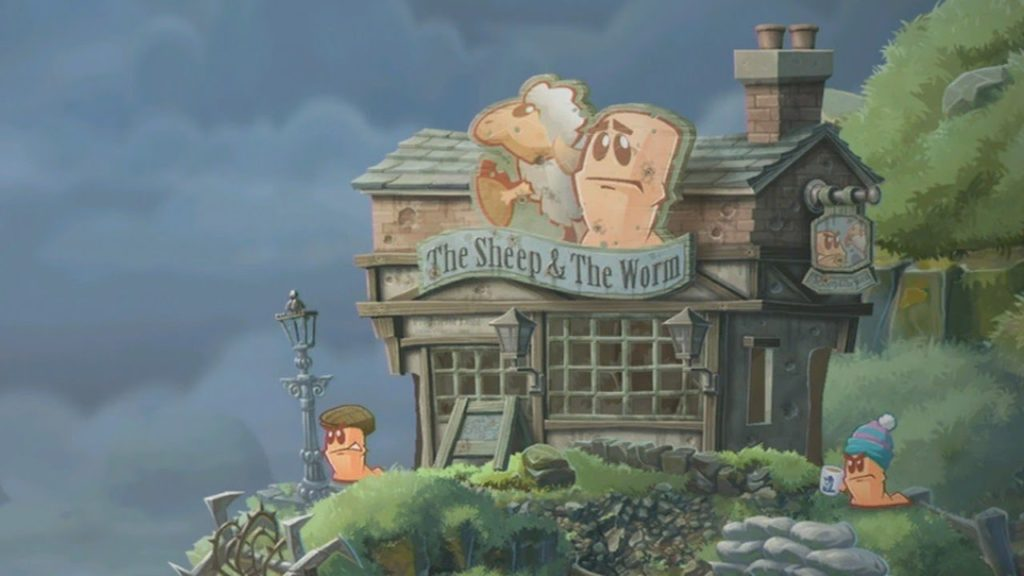the sheep and the worm